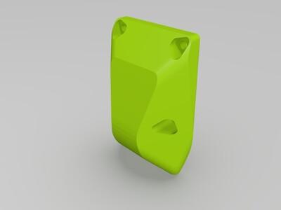吹料风扇导风罩-3d打印模型