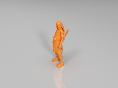 大蛇丸 -3d打印模型