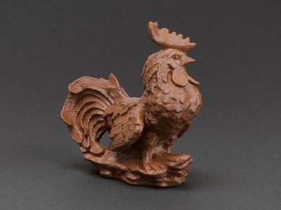 公鸡-3d打印模型