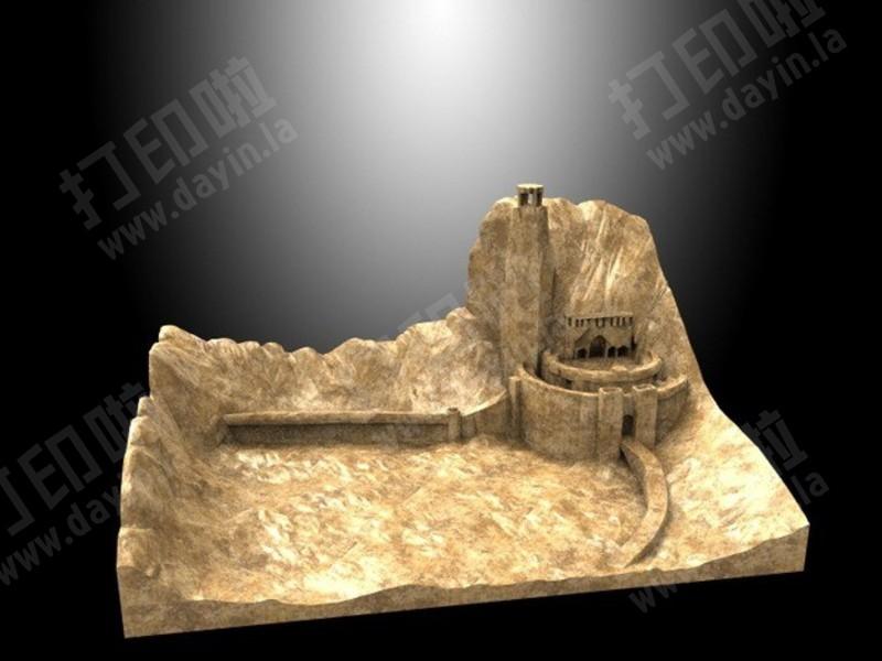 圣盔谷-3d打印模型