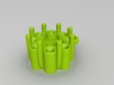 钻石吊坠-3d打印模型