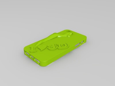 IPHONE5-3d打印模型