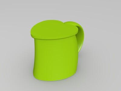 爱情水杯-3d打印模型