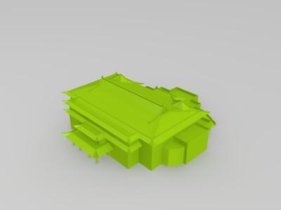 宋美龄别墅-3d打印模型