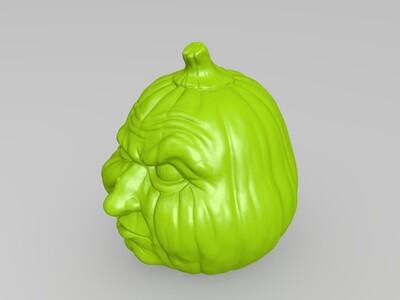 冬瓜脸-3d打印模型