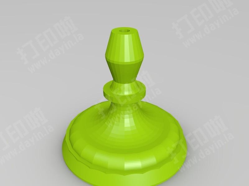 荧光棒台-3d打印模型