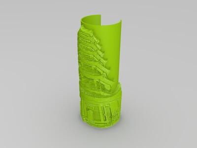 绳金塔-3d打印模型