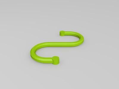 钩子-3d打印模型