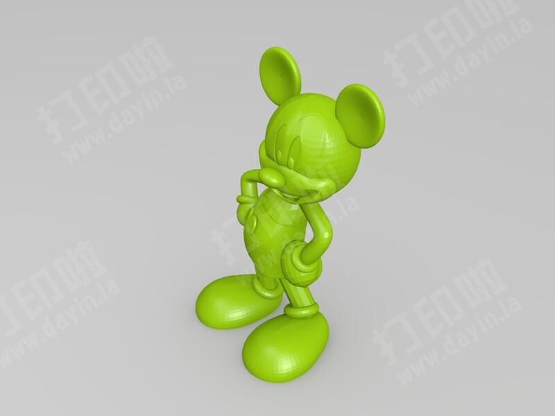 米奇-3d打印模型