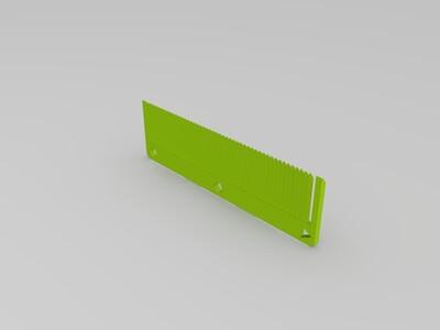 旅游用梳子-3d打印模型