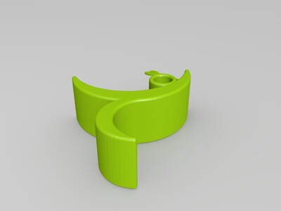 彩带舞者-3d打印模型
