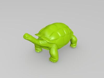 毛里求斯象龟-3d打印模型