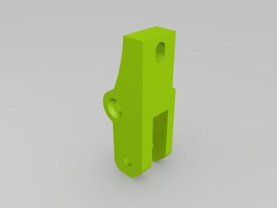 三角洲K800近程挤出机构-3d打印模型