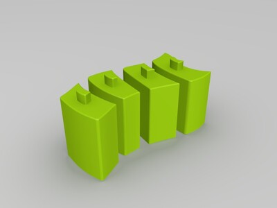 抽屉柜子-3d打印模型