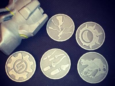 守望先锋硬币-3d打印模型