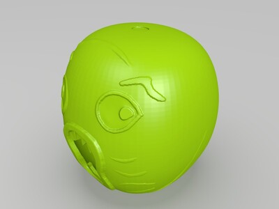 王尼玛头套-3d打印模型