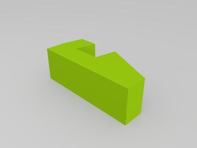 3D打印照片的底座-3d打印模型