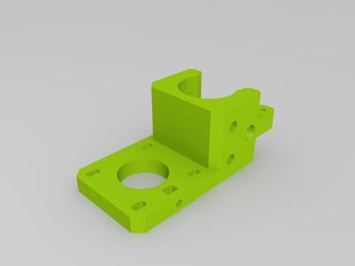 挤出机-3d打印模型