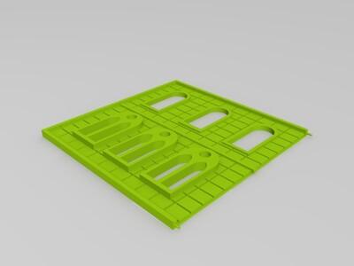 火车站-3d打印模型
