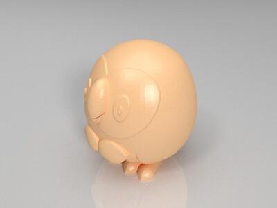 精灵宝可梦太阳·月亮-3d打印模型
