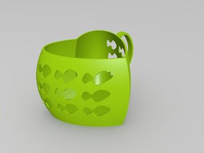 镂空杯子-3d打印模型
