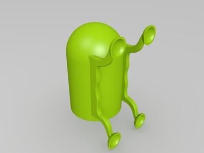 吸盘花盆-3d打印模型