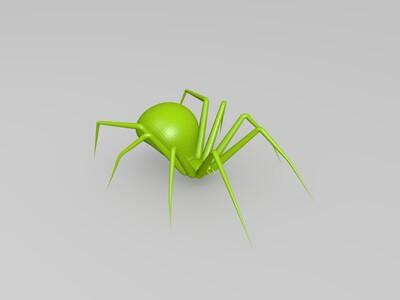 黑蜘蛛-3d打印模型