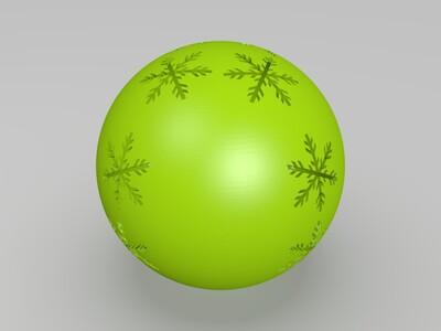 镂空球体-3d打印模型