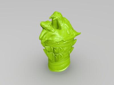 战神奎多斯桌面摆件-3d打印模型
