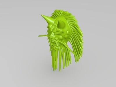 鬼王挂件-3d打印模型