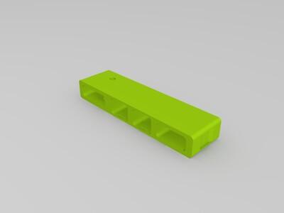 电脑接口-3d打印模型