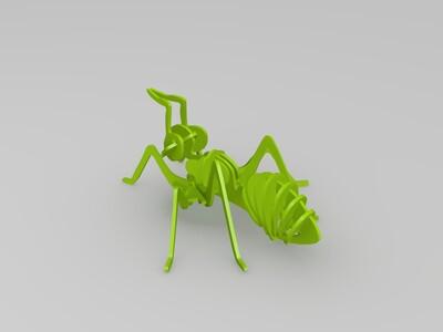 蚂蚁摆件-3d打印模型
