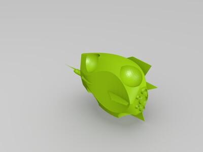 概念交通工具-3d打印模型