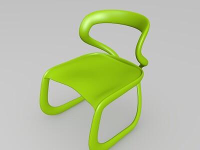 S—IVO椅子-3d打印模型