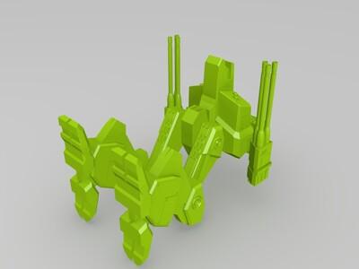 战斗机器人-3d打印模型