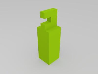 榫卯三向连接-3d打印模型