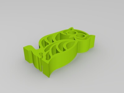 猫头鹰摆件-3d打印模型