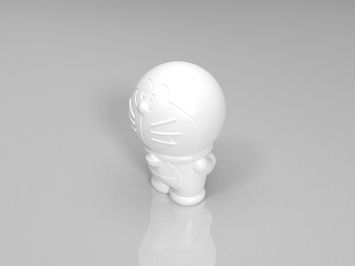 爱心哆啦A梦-3d打印模型