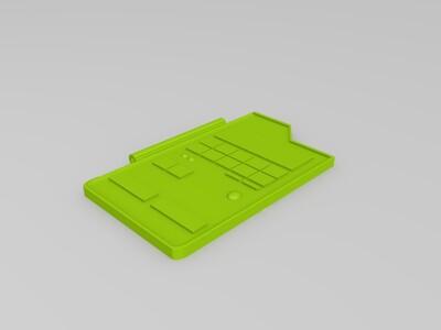 神奇宝贝图鉴--手机壳-3d打印模型