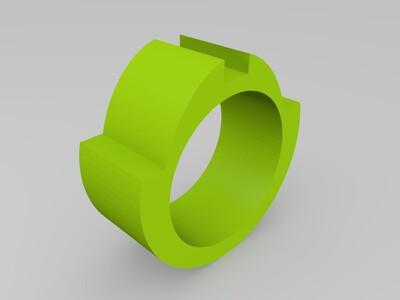 LED灯戒指-3d打印模型