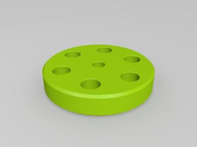 行星齿轮减速套装-3d打印模型