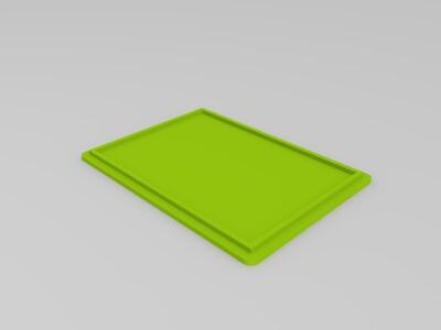 抽纸巾盒-3d打印模型