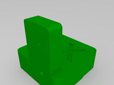 UM2开口皮带传输任意扩大尺寸关键模型-3d打印模型