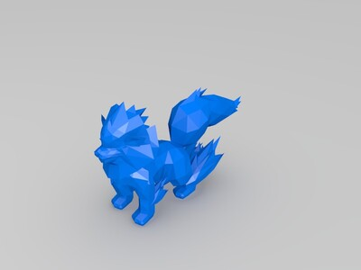 口袋妖怪--风速狗-3d打印模型
