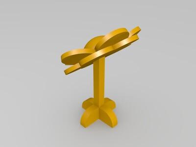 小花-3d打印模型