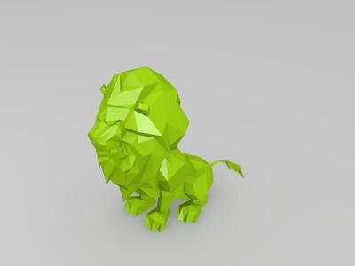魔兽世界联盟狮-3d打印模型