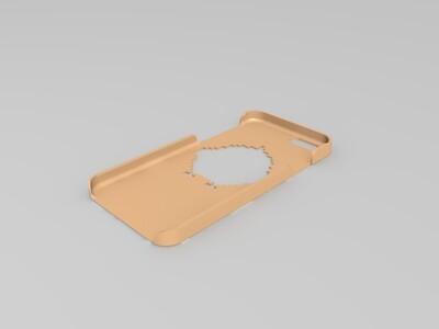 煎蛋iphone6手机壳 -3d打印模型