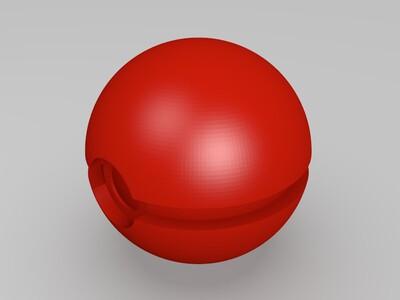 精灵球-3d打印模型