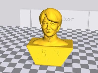 龙哥头像-3d打印模型