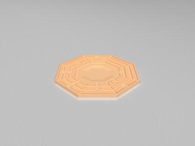 八卦镜-3d打印模型